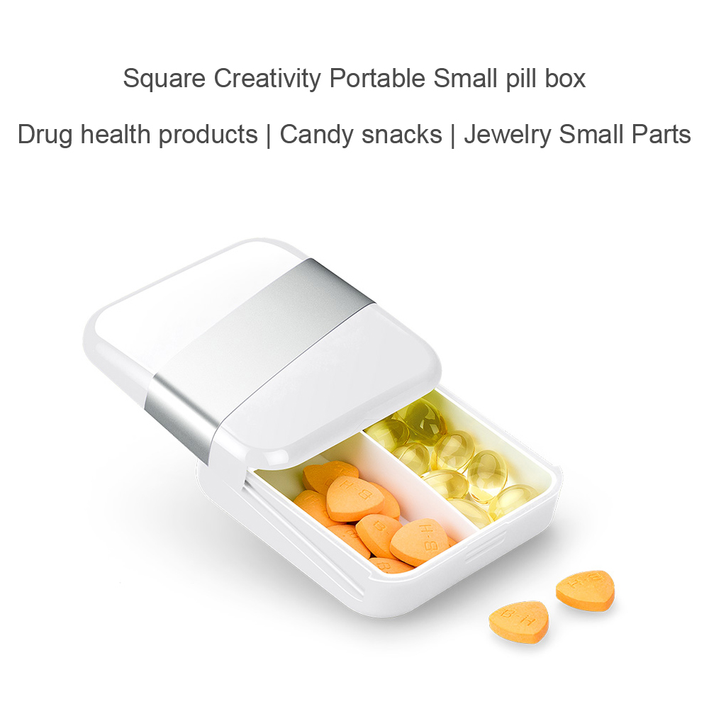 Portable Pocket Pill Case