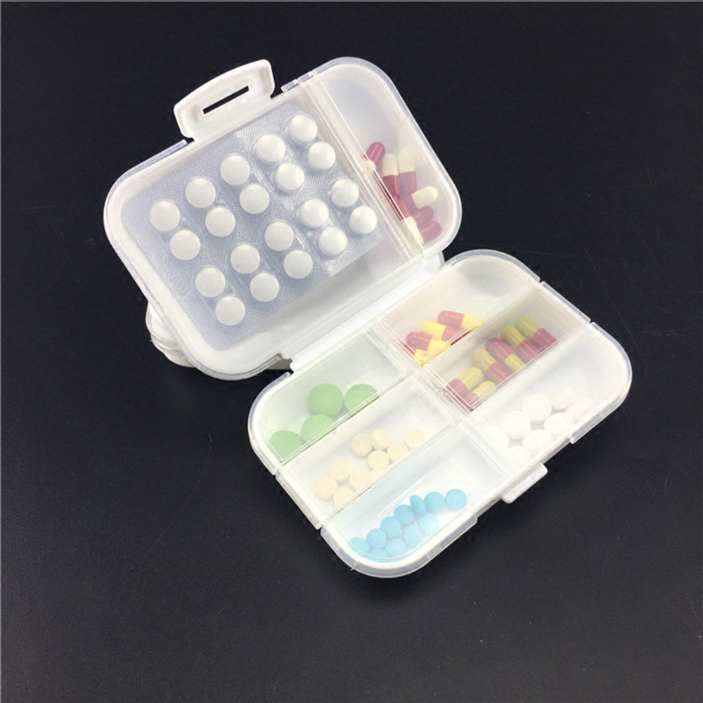 Portable Weekly Pill Organizer