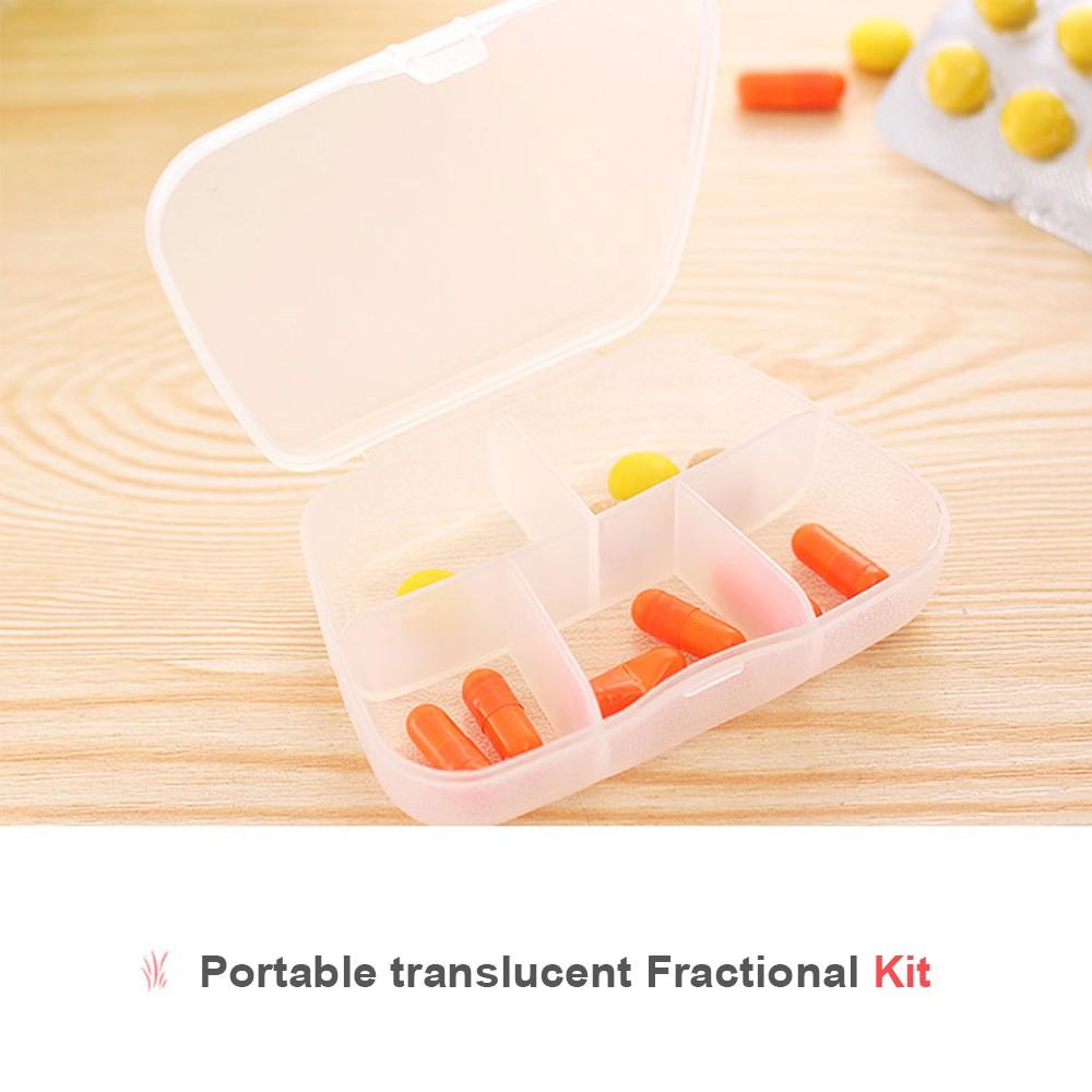 Translucent Weekly Pill Box