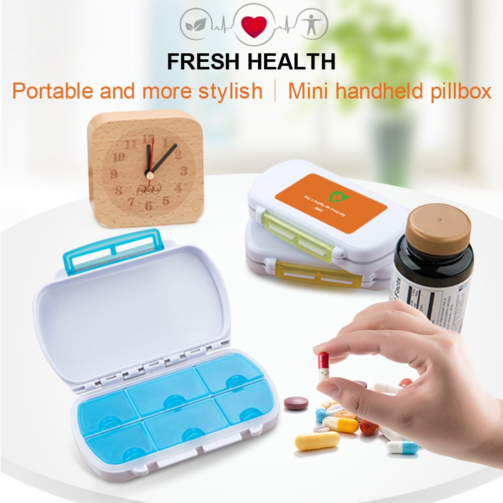 Waterproof Pill Organizer for Weekly and Travel Use, Bonus 1 Medicine Tablet Cutter 4