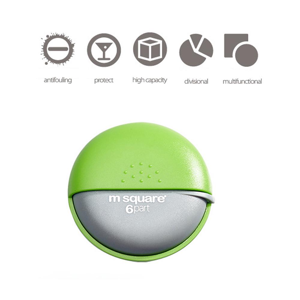 Portable Rotating Pill Case