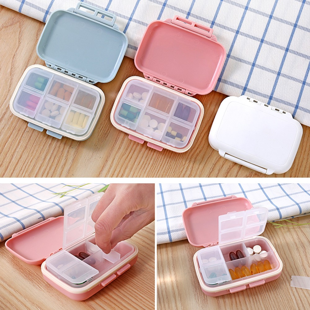 Portable Waterproof Pill Box