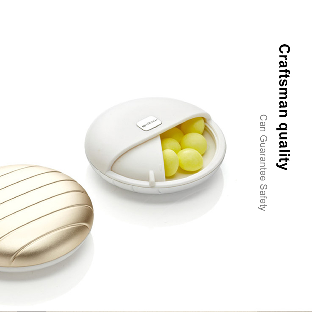 Elegant Mini Pill Box