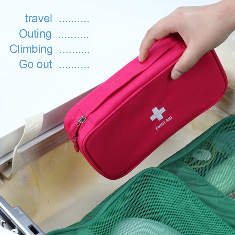 Mini First Aid Kit for emergency and survival situations, Medical Survival Bag For hospital grade medical supplies 6
