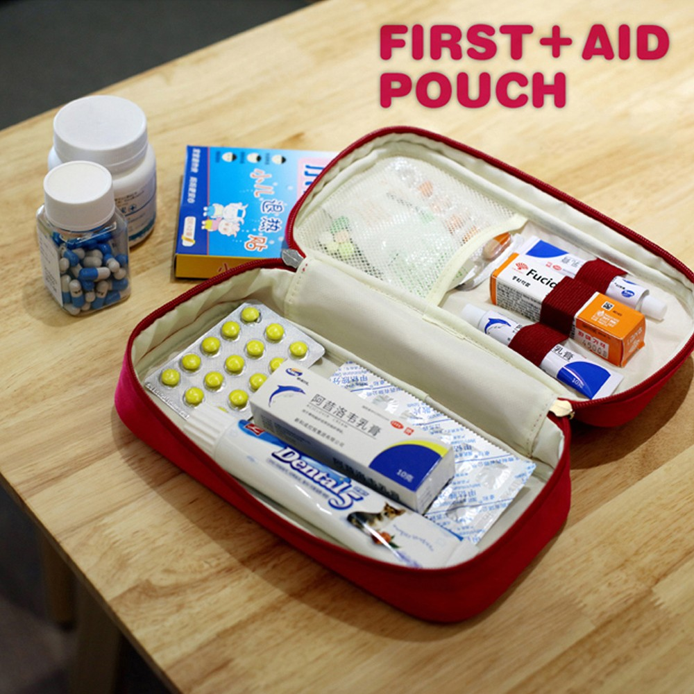 Mini First Aid Kit for emergency and survival situations, Medical Survival Bag For hospital grade medical supplies 8