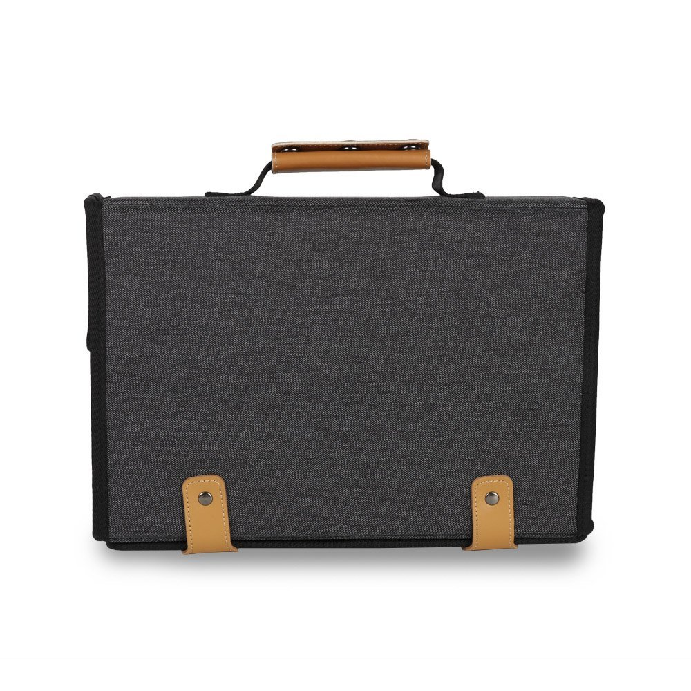 Large Electronic Organizer Travel Case, Portable Electronics Accessories Storage Bag for Travel Use (Grey) 12
