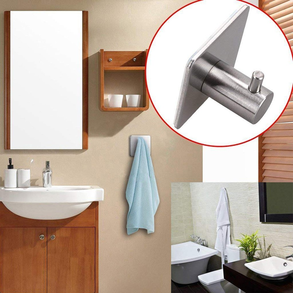 Self Adhesive Hook for Hanging Towels