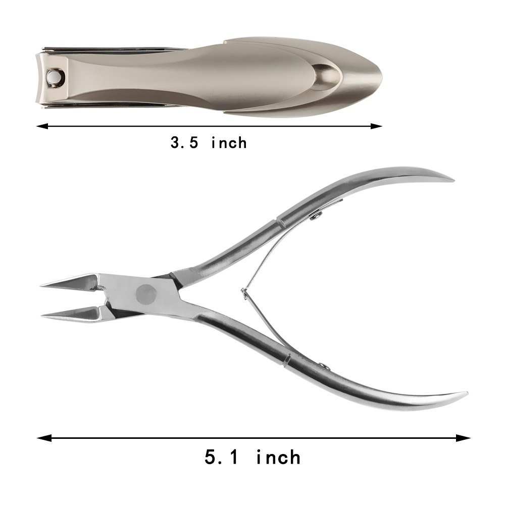 Nail Clipper and Stainless Steel Cuticle Nipper