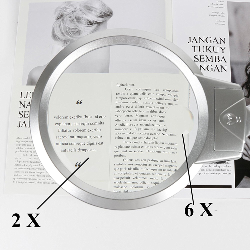 Desktop Magnifying Glass