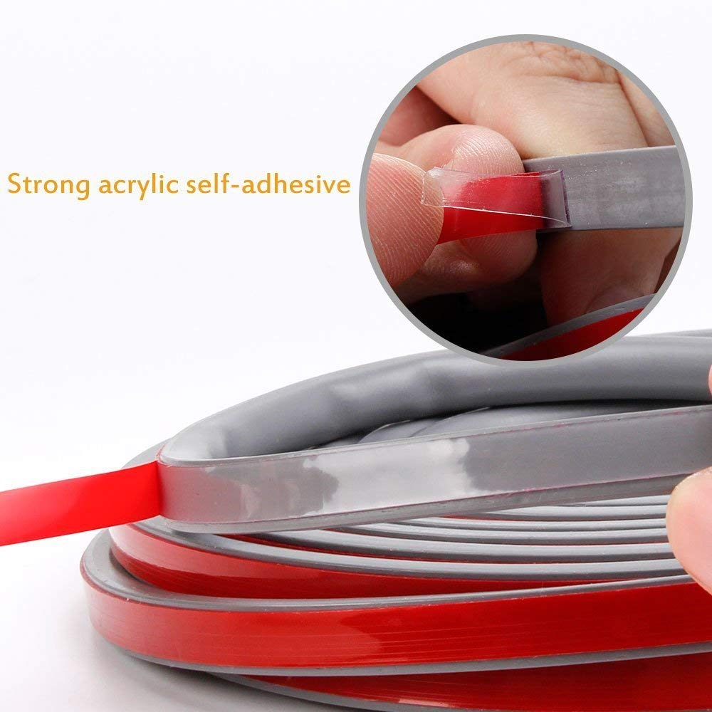 Soundproofing Weatherstrip Self-Adhesive Silicone Rubber