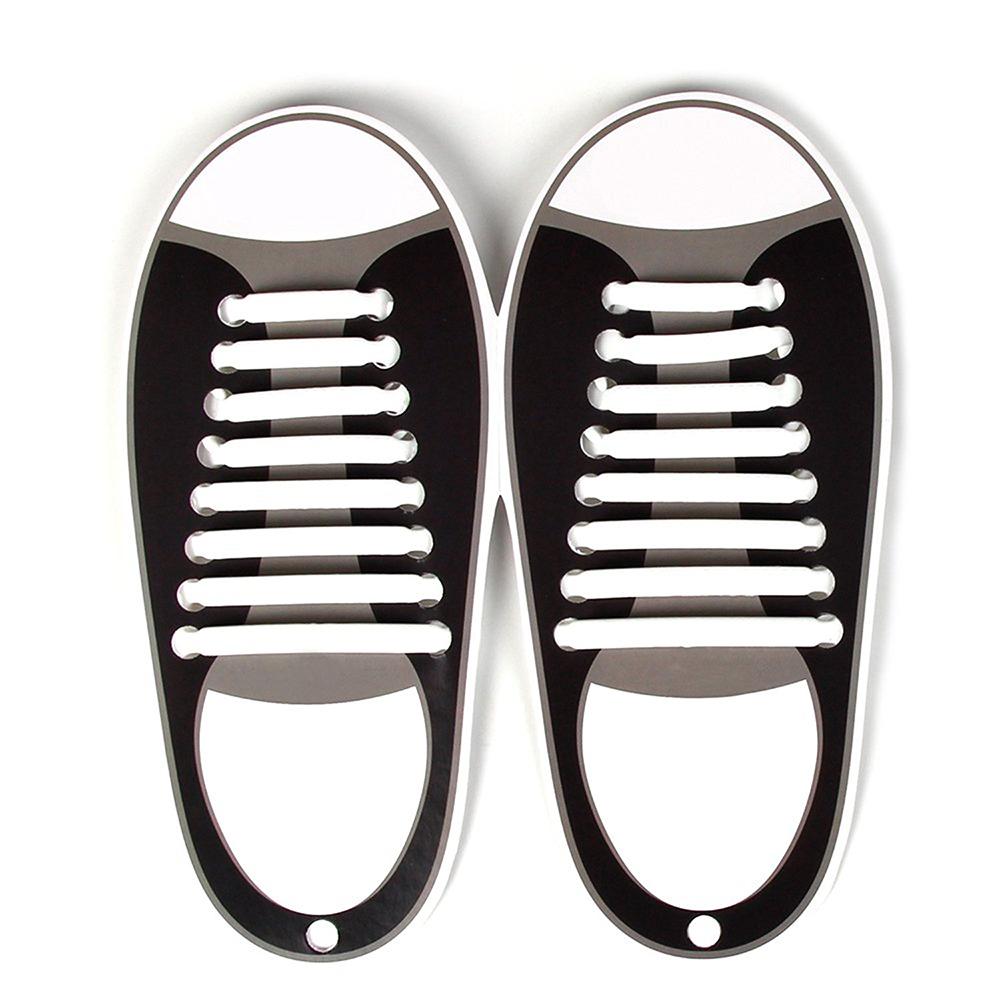 No-Tie Shoelaces,Rubber Shoelaces