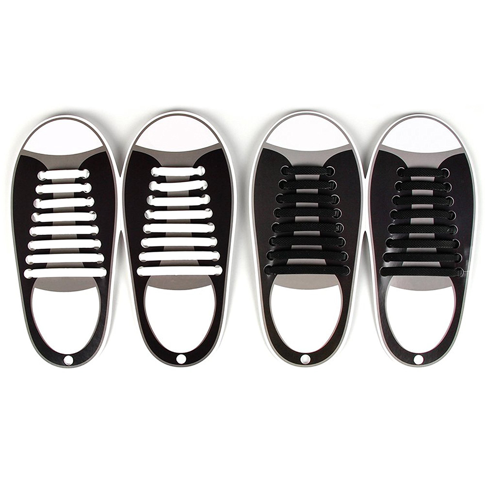No-Tie Shoelaces,Rubber Shoelaces
