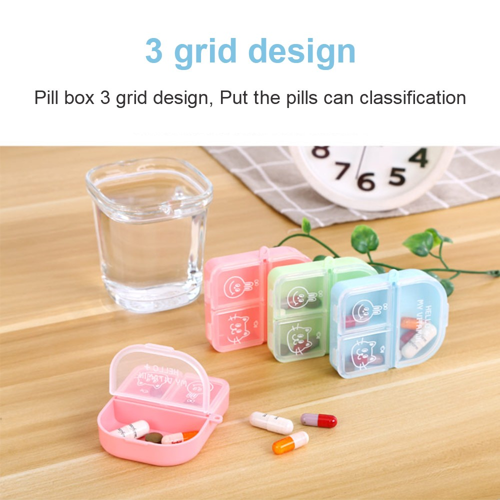 Cute Travel Pill Box for Women