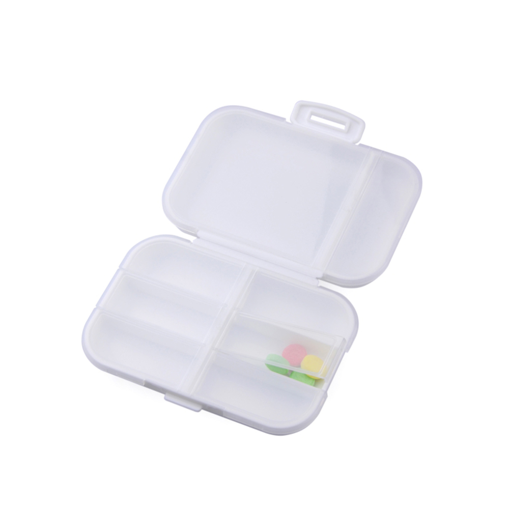 Outdoor Double Layer Supplements Tablet Pill Container