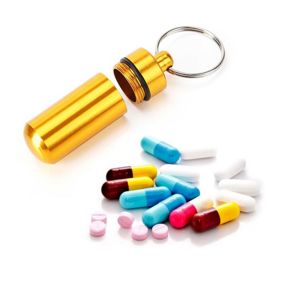 Mini Aluminum Alloy Pill Fob