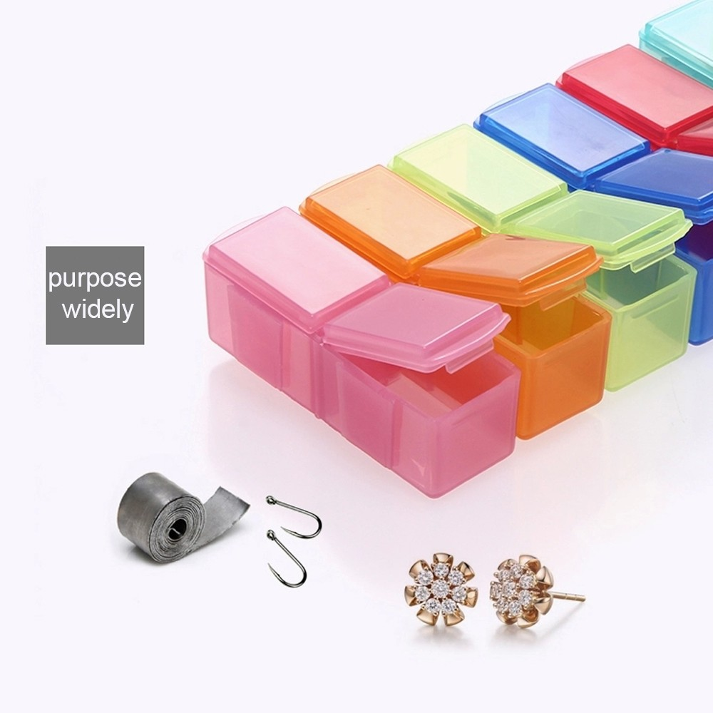 7 Day Travel Pill Box Bonus 1 Pill Cutter