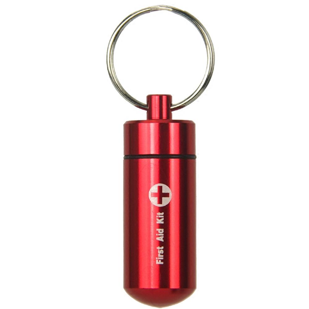 Waterproof Pill Bottle with Keychain