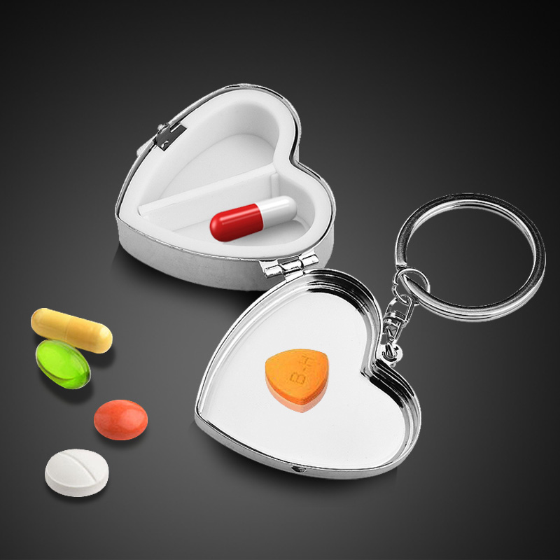 Stainless Steel Pill Case