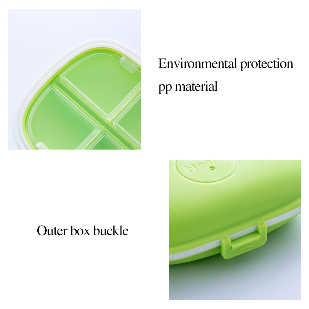 Outdoor Waterproof Weekly Pill Case