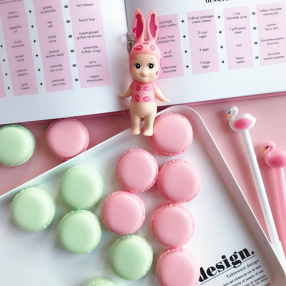 Cute Macaron Shape Mini Pill Case, Colorful Storage Container for Candy, Jewelry, Pills (5 pcs) 11