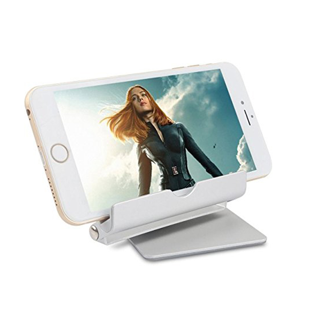 Multi-Angle Aluminum Holder stand, 360 Rotation Fold-up Stand Holder for 3.5-13 inch Tablets, E-readers and Smartphones 7