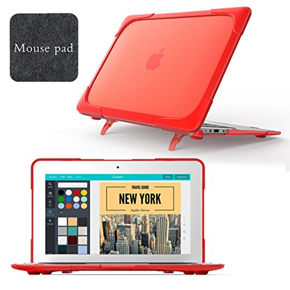 Macbook Air 11 Case, Hard Shell Protective Cover Case for Apple Macbook Air 11 Inch (Model: A1465/A1370) 10