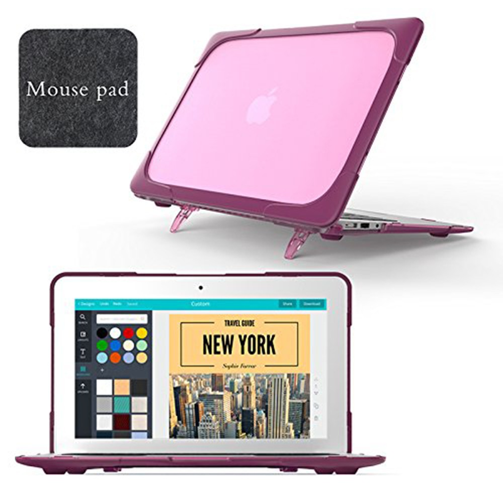 Macbook Air 11 Case, Hard Shell Protective Cover Case for Apple Macbook Air 11 Inch (Model: A1465/A1370) 12