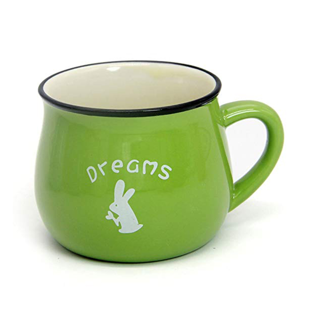 6 / 8 / 12 oz Ceramic Coffee Mug, Cute Lovely Cartoon Tea Mug, Milk Mug, Kids Cups 1