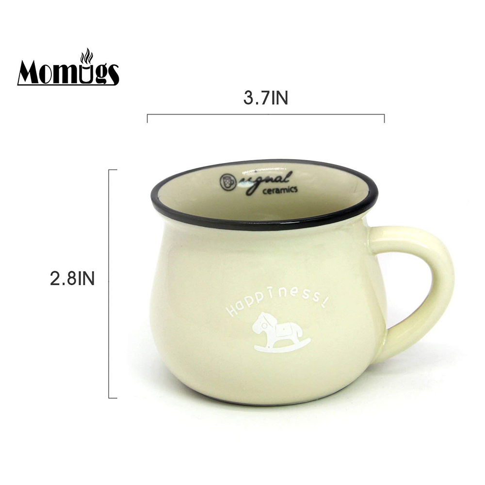 6 / 8 / 12 oz Ceramic Coffee Mug, Cute Lovely Cartoon Tea Mug, Milk Mug, Kids Cups 4