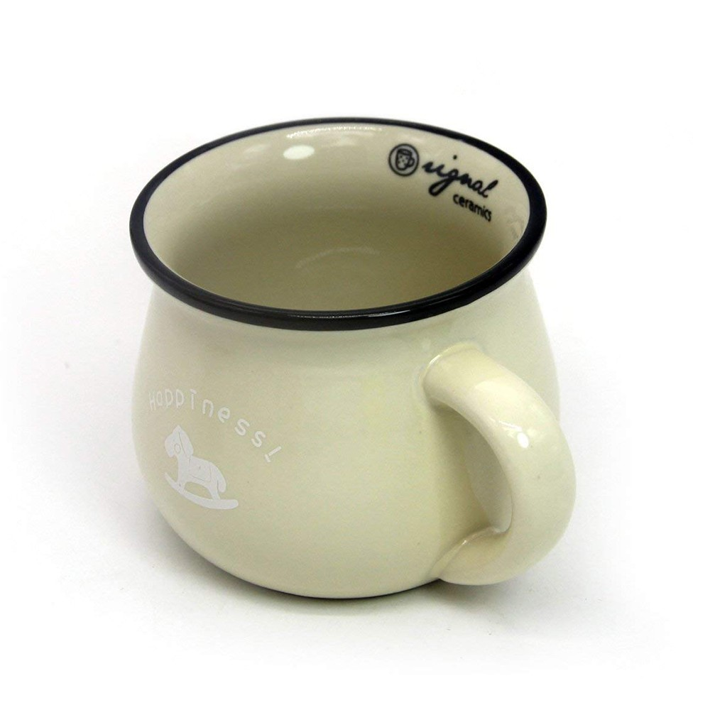 6 / 8 / 12 oz Ceramic Coffee Mug, Cute Lovely Cartoon Tea Mug, Milk Mug, Kids Cups 6