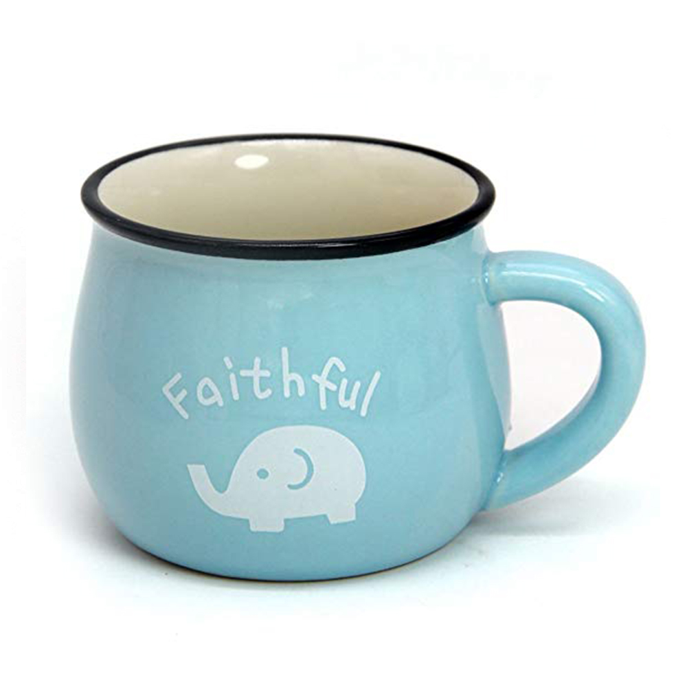 6 / 8 / 12 oz Ceramic Coffee Mug, Cute Lovely Cartoon Tea Mug, Milk Mug, Kids Cups 14