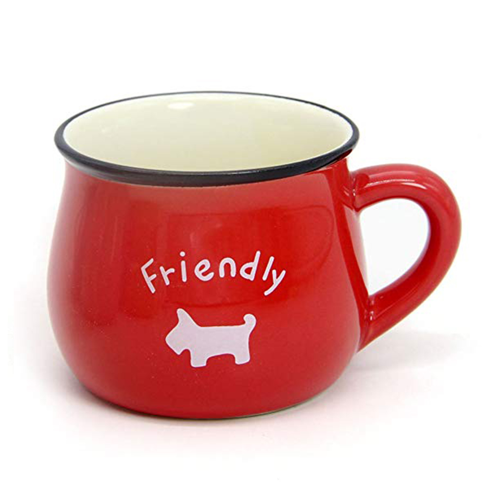 6 / 8 / 12 oz Ceramic Coffee Mug, Cute Lovely Cartoon Tea Mug, Milk Mug, Kids Cups 10