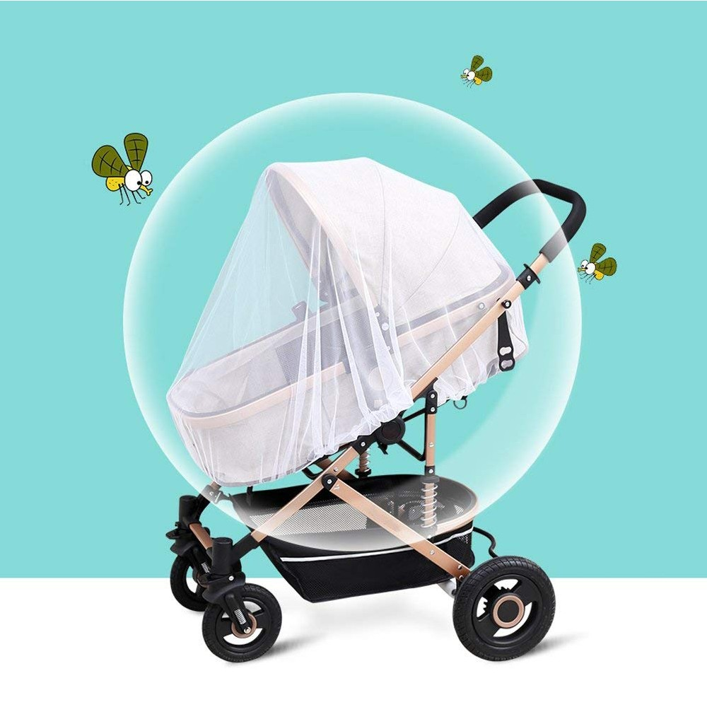 Portable & Durable Baby Mosquito Net, Breathable Baby Insect Netting for Stroller, Car Seat, Bassinet, Playpens 6