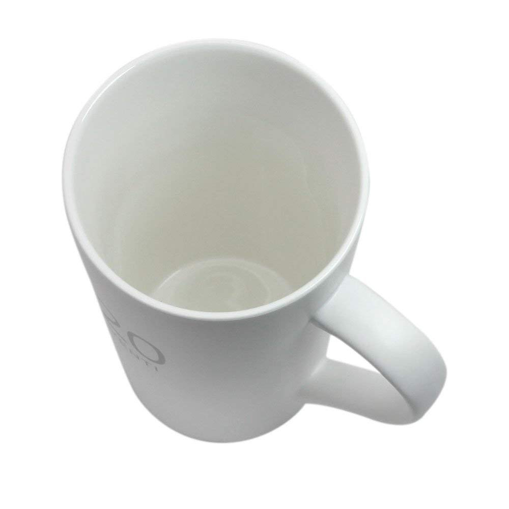 Ceramic Milk Mug 20-Ounce, Number Pattern Tall Ceramic Mug for Coffee, Soups, Hot Chocolate 1
