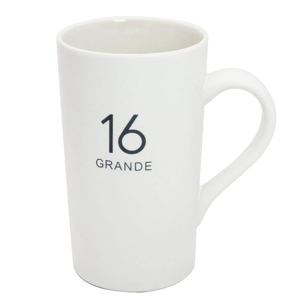 Personalized Coffee Mug with Number Pattern Printing, Unique Ceramic Coffee Mug for Tea, Cocoa, Latte 2