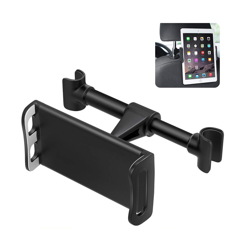 Universal Car Headrest Mount Holder, 360°Rotatable Car Seat Tablet Holder for 4 - 11 Inch Smartphones and Tablets 13