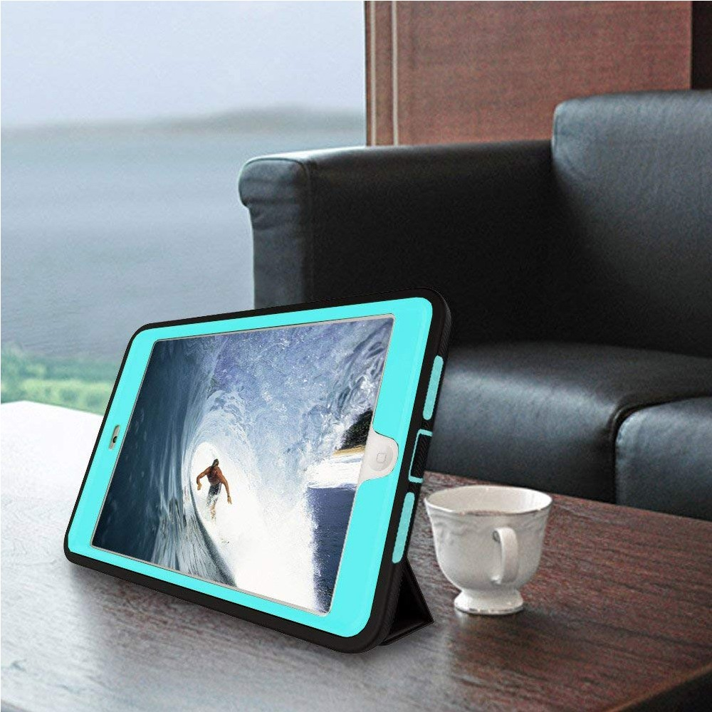 iPad mini 4 Case with Multiple Viewing Angles and Auto Sleep/Wake Function, Shockproof Protective Stand Folio Case Cover for iPad Mini 4 15