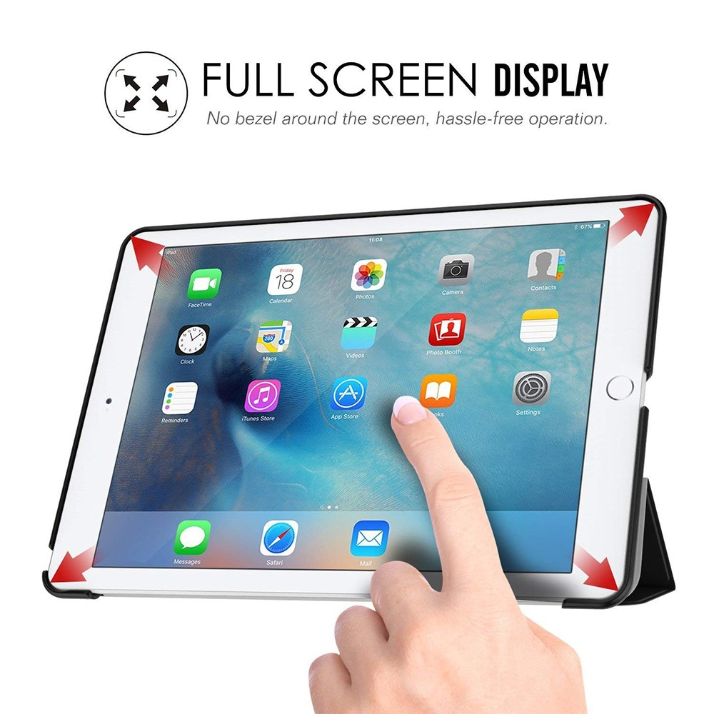 iPad Pro 9.7 Slim Folding Case, Stand Smart Case Shell with Translucent Frosted Back and Auto Wake/Sleep Function for Apple iPad Pro 9.7 Inch 2016 Release 5