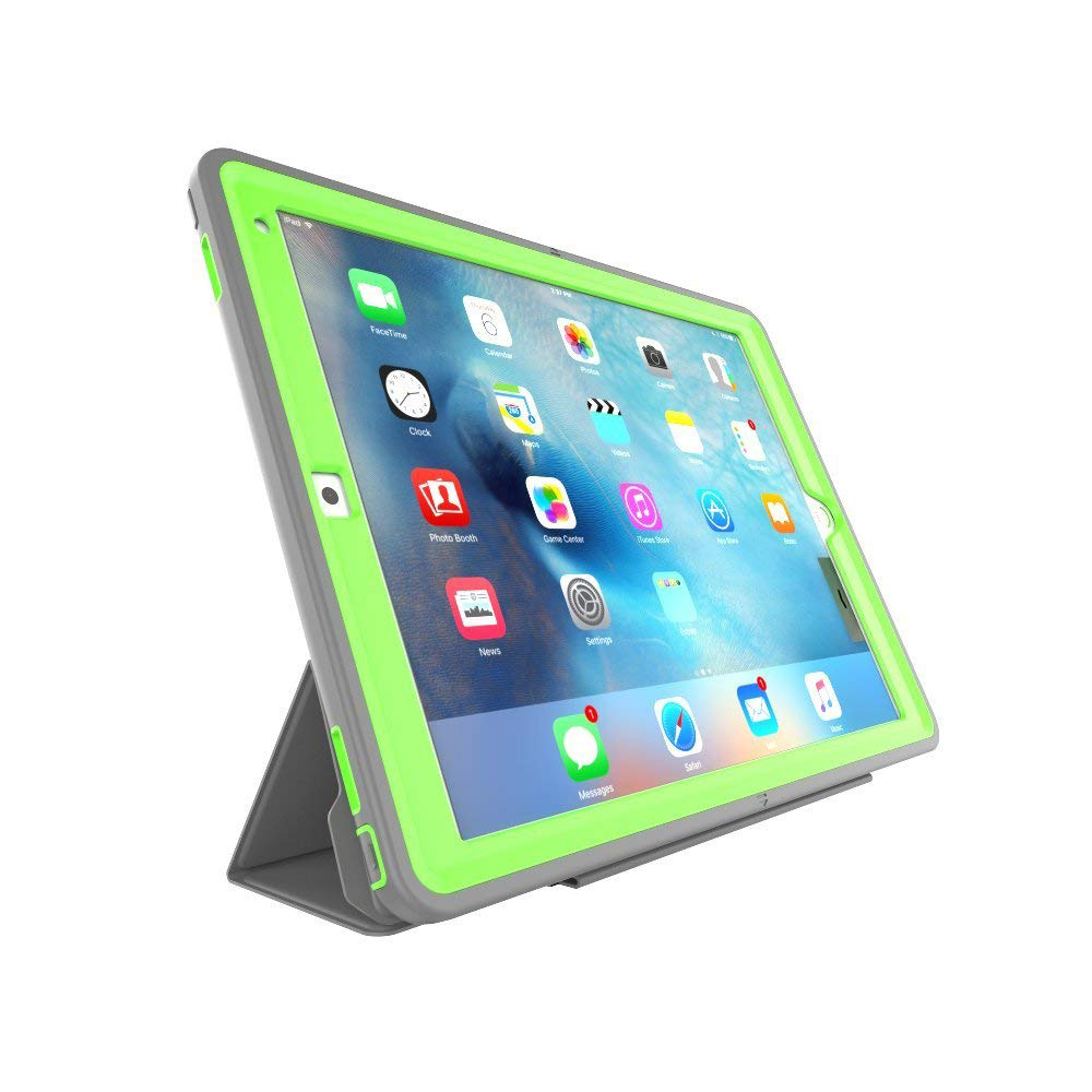 iPad Pro 12.9 Case with Auto Sleep/Wake Function, Smart Stand Heavy Duty Protective Case for Apple iPad Pro 12.9 Inch 12