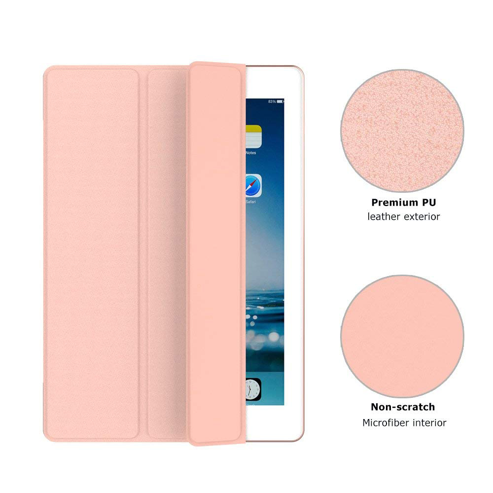 iPad Pro 10.5 Inch 2017 Case with Multiple Viewing Angles & Auto Wake/Sleep, Protective Ultra Slim Hard Shell Folio Stand Smart Cover for Apple iPad Pro 10.5 Inch 2017 Release Tablet 3