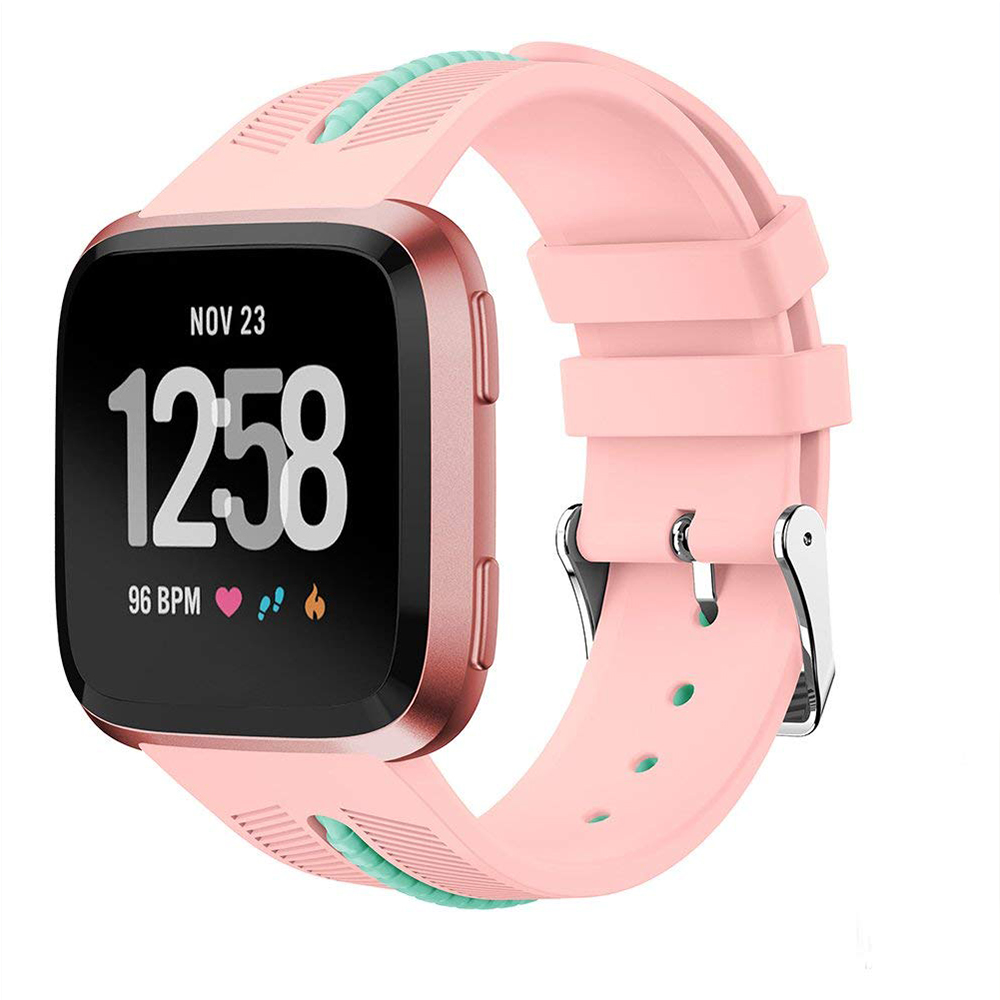 Adjustable Fitbit Versa Band, Unisex Sport Strap Replacement Wristband for Fitbit Versa Fitness Smart Watch 15