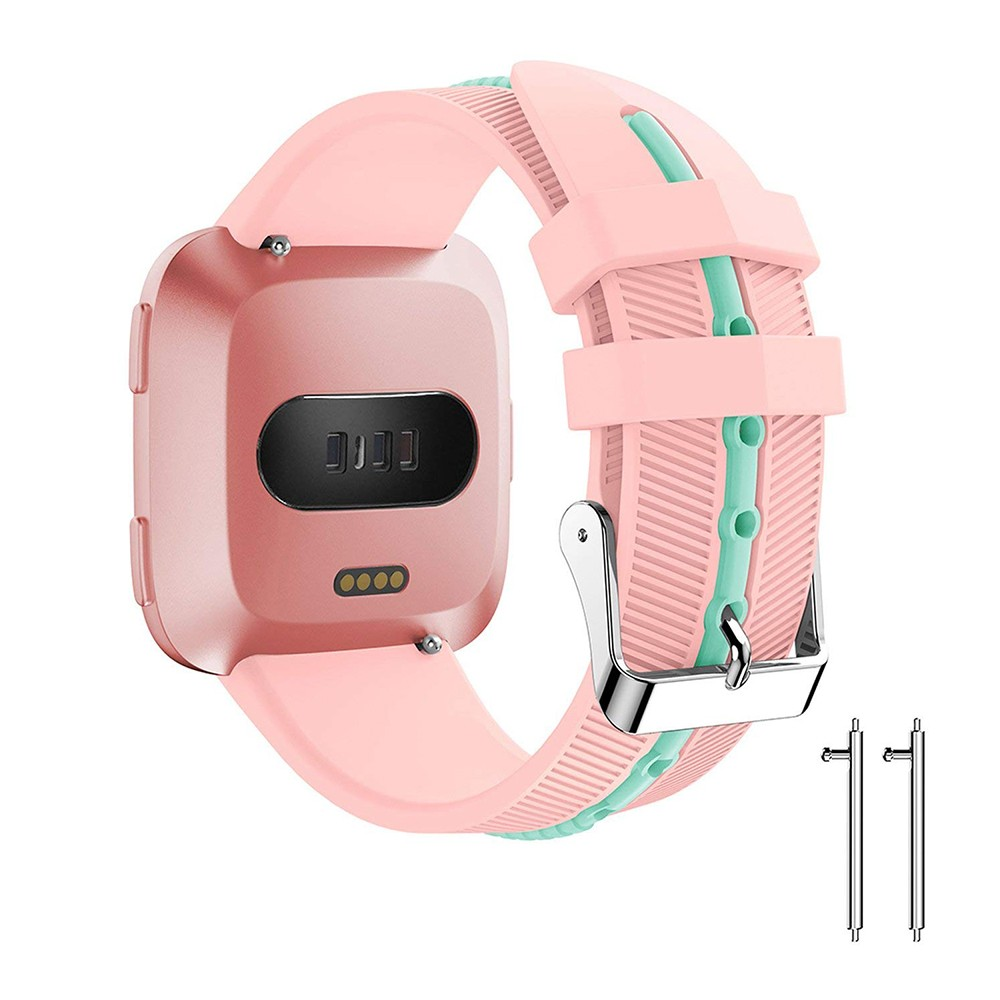 Adjustable Fitbit Versa Band, Unisex Sport Strap Replacement Wristband for Fitbit Versa Fitness Smart Watch 13