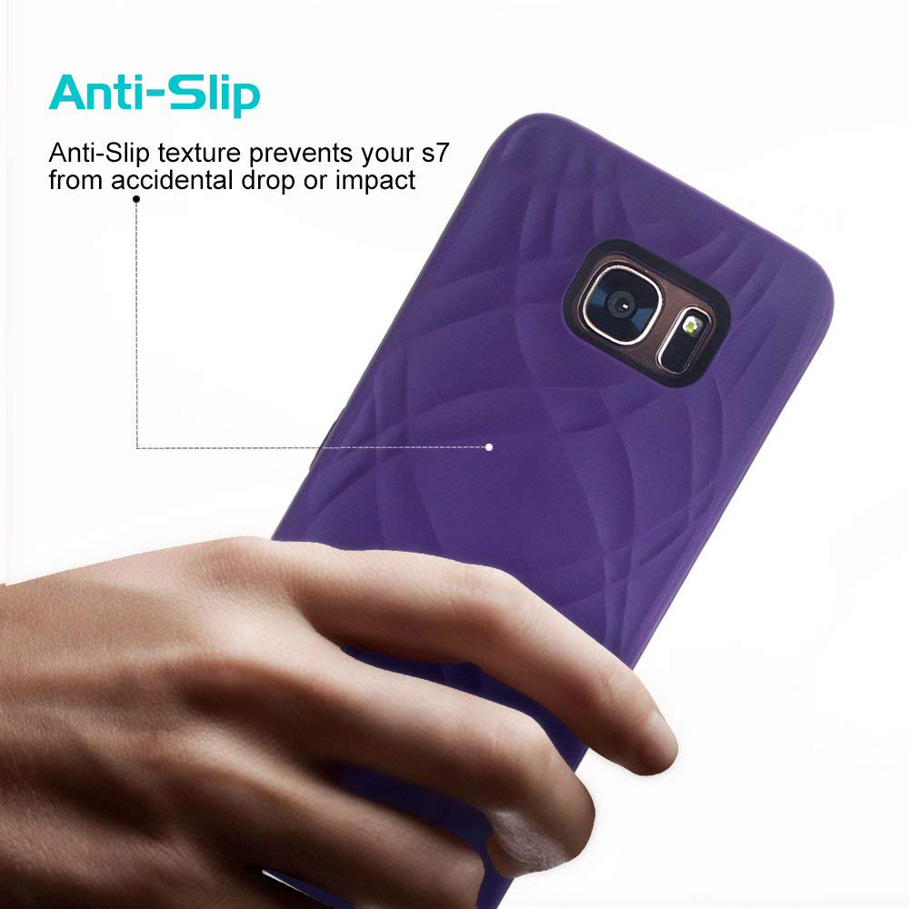 Galaxy S7 Edge Wallet Case With Mirror, Flip Case Cover with Card Slots & Stand for Samsung Galaxy S7 edge 20