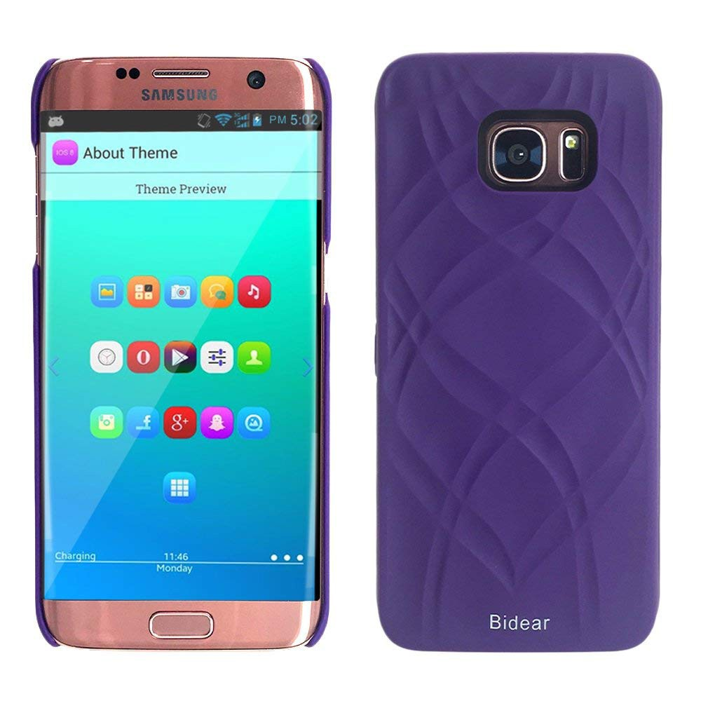 Galaxy S7 Edge Wallet Case With Mirror, Flip Case Cover with Card Slots & Stand for Samsung Galaxy S7 edge 19
