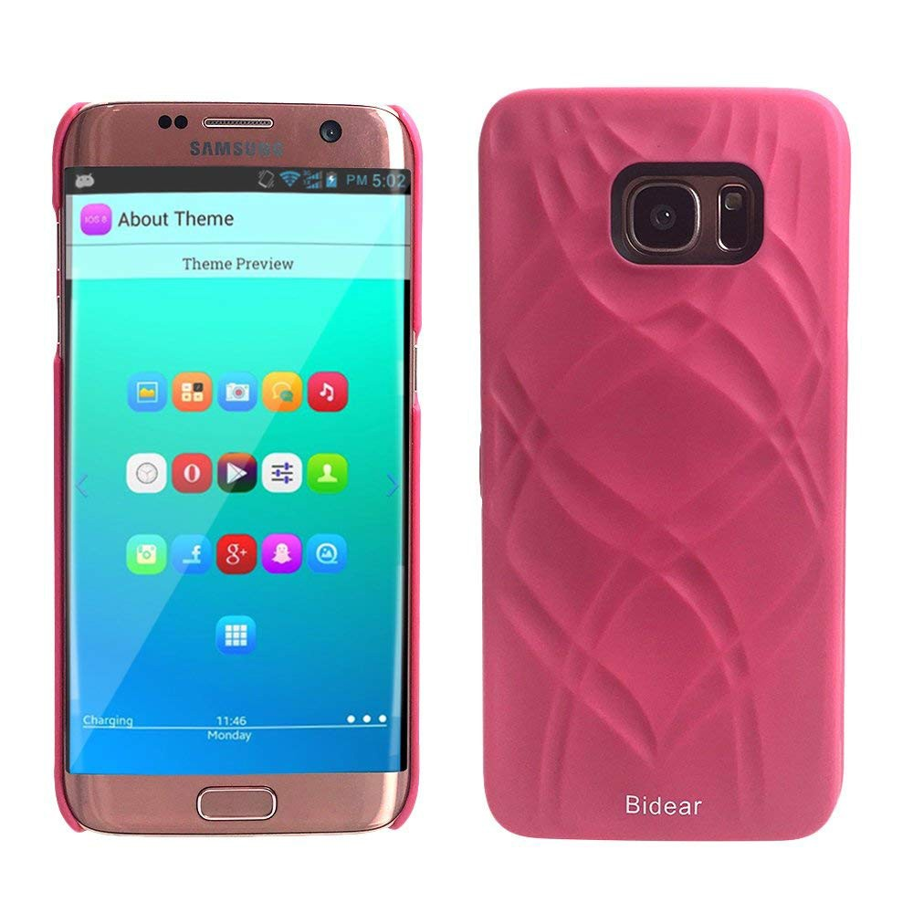 Galaxy S7 Edge Wallet Case With Mirror, Flip Case Cover with Card Slots & Stand for Samsung Galaxy S7 edge 31