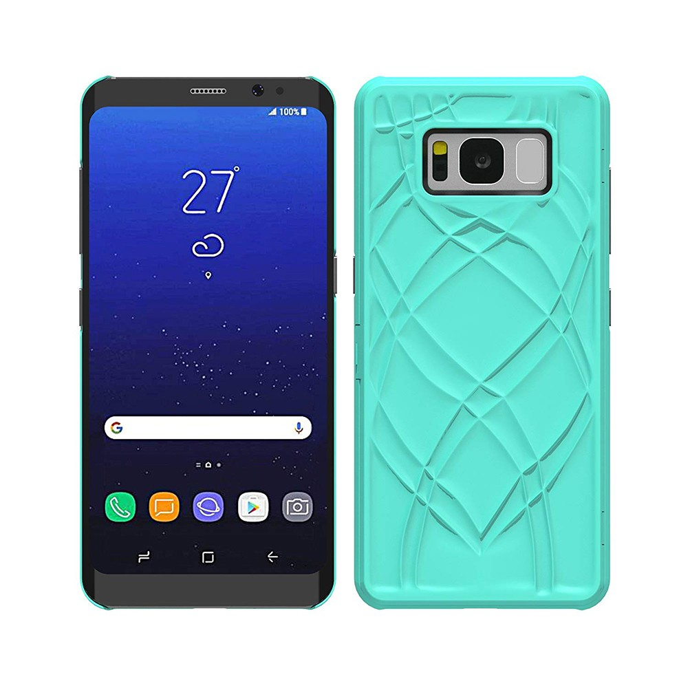Galaxy S8 Plus Flip Case Cover, Hidden Back Mirror Wallet Case with Stand Feature and Card Holder for Samsung Galaxy S8 Plus 12