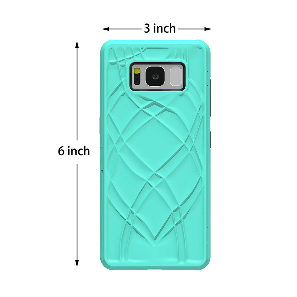 Galaxy S8 Plus Flip Case Cover, Hidden Back Mirror Wallet Case with Stand Feature and Card Holder for Samsung Galaxy S8 Plus 13