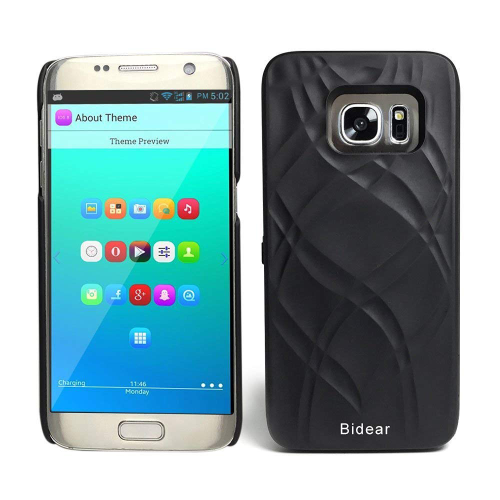 Galaxy S7 Wallet Case With Mirror, Protective Case Cover with Card Key Slot Holder & Stand Feature for Samsung Galaxy S7 5.1 inch 27