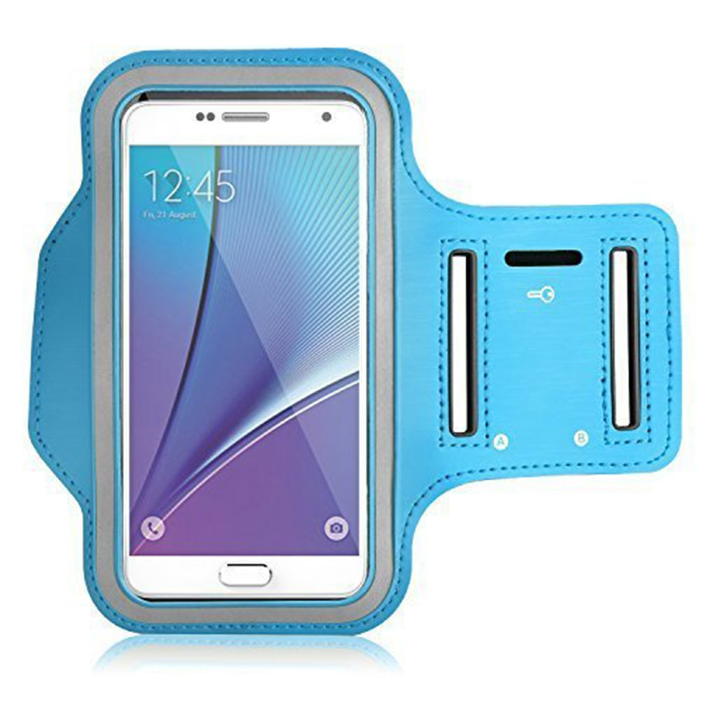 Water Resistant Galaxy S7 Armband 5.2 Inch, Water Resistant Sports Running Armband Workout Cover for Nexus 5X/Sony Z5/iPhone SE/iPhone 6s/Droid Turbo 0