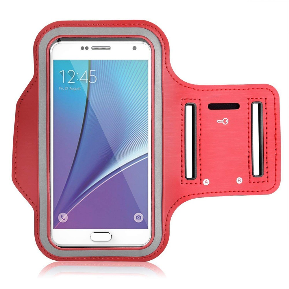 Water Resistant Galaxy S7 Armband 5.2 Inch, Water Resistant Sports Running Armband Workout Cover for Nexus 5X/Sony Z5/iPhone SE/iPhone 6s/Droid Turbo 3